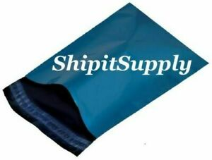 1 1000 9x12 Blue Color Poly Mailers Shipping Boutique Bags Fast Shipping