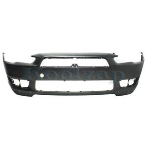 08 15 Lancer Front Bumper Cover Assembly With Air Dam Holes Mi1000319 6400b914