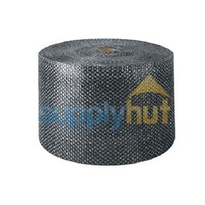 3 16 Small Bubble Cushioning Wrap Black Roll 2100 X 12 Wide 2100ft Perf 12