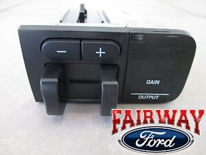 05 Thru 07 Super Duty F250 F350 Oem Ford In dash Trailer Brake Control Module