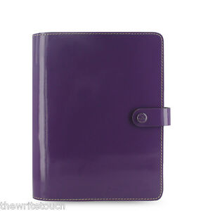The Original Organizer Patent Purple By Filofax A5 Made In The Uk