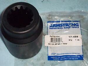 New Armstrong 17 458 5 Spline Drive 6 point Impact Socket 1 13 16