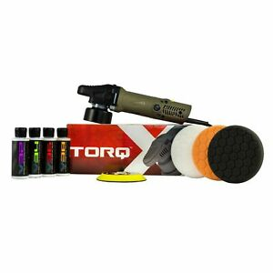 Torqx Random Orbital Polisher Kit 8 Items Chemical Guys Buf503x