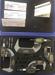 Igaging Digital Micrometer 0 4 4 Piece 0 1 1 2 2 3 3 4 absolute Speedmic