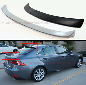Vip Style Rear Roof Spoiler Trunk Lid Wing For 2014 18 Lexus Is250 Is350 Is200t