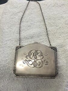 Sterling Silver 925 Foster And Bailey Cigarette Holder Purse Wallet