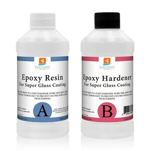 Epoxy Resin 32 Oz Kit For Super Gloss Coating And Table Tops