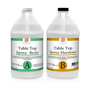 Table Top Epoxy Resin 1 Gal Kit For Tabletop bar top
