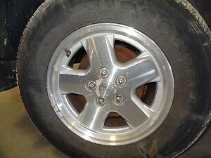Oem 2002 2006 Jeep Liberty 16x7 Aluminum Wheel Tire Not Included
