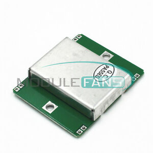 10 525ghz Hb100 Microwave Doppler Radar Detect Probe Wireless Sensor Module