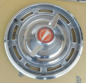 14 1966 Buick Special 2 Spinner 9 Slot Hubcap Wheel Cover 00981161