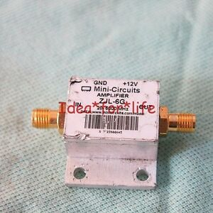 Mini circuits Zjl 6g 20 6000mhz 6ghz Rf Sma Coaxial Amplifier c1a8
