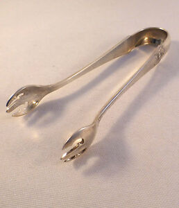 Pompeian Whiting Sterling Sugar Tongs 4 1 4