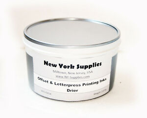 Drier For Letterpress Offset Printing Inks 2 5 Lbs Each