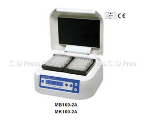 High Quality Thermo Shaker Incubator Rt 5 70 Degree For Microplate Mb100 2a