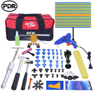 Pdr Tools Dent Lifter Paintless Hail Repair Slide Hammer Puller Tab Glue Removal