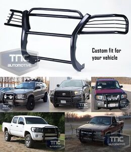 2004 13 Chevy Colorado Gmc Canyon Grill Brush Guard Black Black Powder Coat