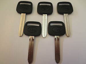 Lot 5 New Tr47 p Toyota Non Chip Ignition Key Blank Uncut Blade made By Ilco