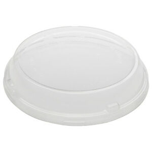Basic Nature Pla Compostable Cold To Go Deli Container Dome Lid 500 Count Box