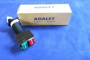 Adalet Explosion proof Start stop Push Button Xhdpb 20030 New In Box