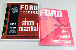 Ford 2000 4000 Series Tractor Service Repair Shop Manual 1962 1963 1964 1965