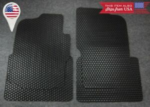 4 Pcs Black All Weather Oe Heavy Duty Rubber Floor Mats For 96 00 Honda Civic