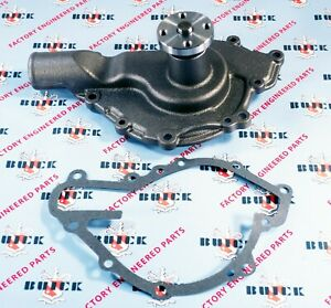 1953 1955 Buick V 8 Water Pump With Gasket New Oem 1392632 Free Shipping