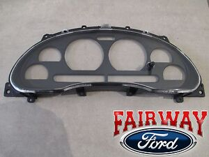99 Thru 04 Mustang Oem Genuine Ford Instrument Dash Cluster Lens Cover Housing