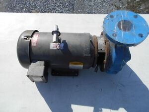 Federal Closed Coupled End 3 Suction Pump 2 1 2 Outlet W 7 5 Hp Baldor Motor