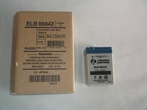 New Acuity Lithonia battery Elb 06042 i46t