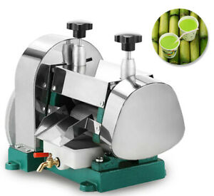 Commercial Manual Sugar Cane Press Juicer Juice Machine Extractor Mill 50kg h
