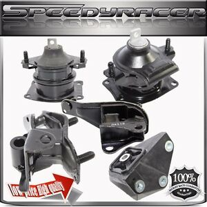 Transmission Engine Mount Kits For Honda 03 07 Accord 2 4l L4 5pcs