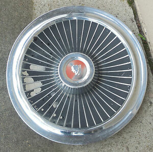 15 1965 Mercury Without Wire Design Without Spinner Hubcap Wheel Cover