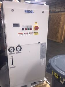 2014 Riedel 4 Ton Portable Water Cooled Chiller New Never Used 460v Pump Tank