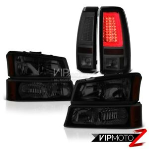 03 06 Chevy Silverado 2500hd Tail Lamps Headlamps Factory Style Ultra Bright