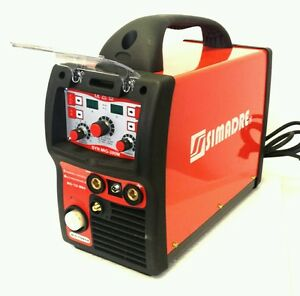 Mig Tig Mma arc Simadre 3in1 Igbt Synergic Digital Welding Machine 200 Amp