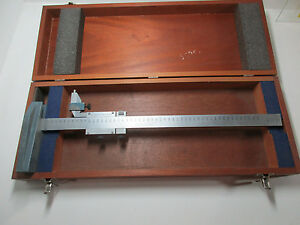 Brown And Sharpe 500mm Metric Height Gauge With Box