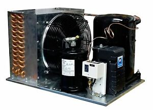 Outdoor Km2464zk 2 Condensing Unit 1 1 2 Hp Low Temp R404a 220v Assemble In Usa