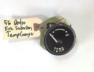 1956 Dodge Temperature Gauge New Old Stock