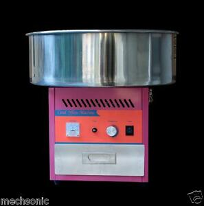 Electric Commercial Candy Floss Making Machine Cotton Sugar Maker 220v S