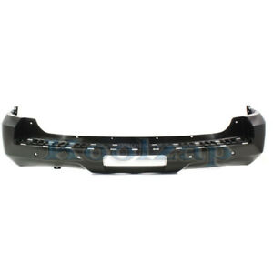 07 14 Chevy Tahoe Rear Bumper Cover Assembly W Sensor Holes Gm1100783 20951793