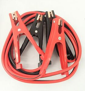 Heavy Duty 10 Ft 8 Gauge Booster Cable Jumping Cables Power Jumper 300amp