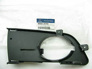 Front Bumper Fog Lamp Light Bezel Trim Right Passengers Oem For 07 08 Tiburon