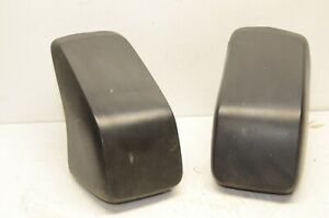 Vintage Porsche Pair Bumper Guards Oem Original