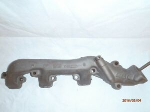 1966 1967 Ford Fairlane 390 Gt Exhaust Manifold Rh Oem Date Code 6 A 26