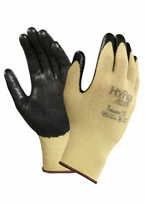 Ansell Hyflex 11500 Foam Nitrile Palm Coated Gloves Size 10 12 Pair