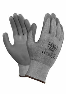 Ansell Hyflex 11627 Coated Dyneema Hppe Gloves Size 9 12 Pair