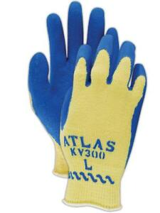 Showa Best Atlas Kv300 Para aramid Cut Resistant Gloves Large 12 Pairs