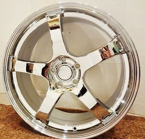 Set 4 Classic Styling Cadillac Chrome 20 X 8 5 Wheels Chrome Fit Most Cadillac