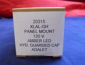 Adalet Panel Mount 120v Amber Led Explosion proof Xlal gh 20315 New In Box